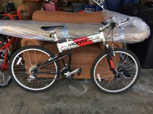 Montague MX Mountain Bike, Collapsable (bella vista)