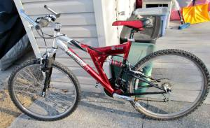 Mongoose Mountain Bike 7000 series XR100 21 Speed Aluminum frame Bicyc (Staten