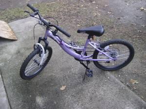 Mongoose Girls Mountain Bike Bicycle VGUC 20