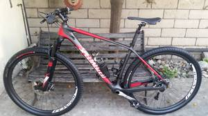 2016 Specialized Stumpjumper Expert Carbon 29er hardtail mountain bike