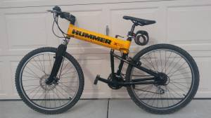 Hummer foldable mountain bike with disk brake (51 ave 101)