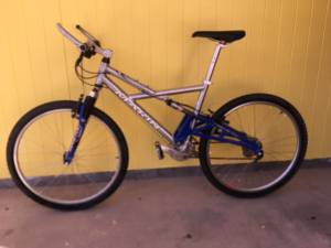 MARIN East Peak double suspension mountain bike (El Paso Westside)