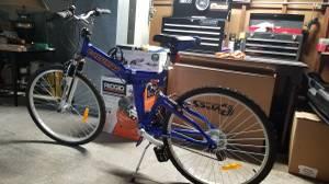 Folding mountain bike (milwaukie)