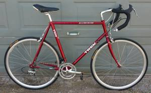 Trek 61cm XL Road Bike w Shimano 105 and Campagnolo Wheelset (Central)