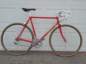 Guerciotti Vintage 56cm Road Bike Campagnolo Delta Columbus Restored (Glen Cove)