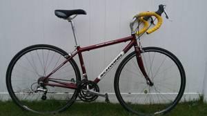 44cm Schwinn road bike-STI shifters, fully tuned*** (warwick)