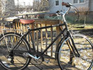 Pure City Classic Bike - 8 Speed Hybrid, Cruiser, Road Bike (50 cm) (Baltimore)