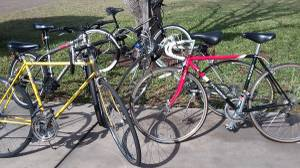 Collection of Road Bikes (brownsville, tx)