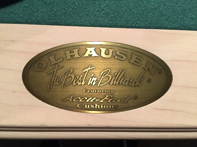 Olhausen Billiard Pool Table Gret Condition