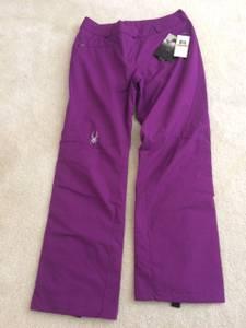 NWT Spyder womens ski/snowboard pants size 14 color Gypsy(3) (Ogden)