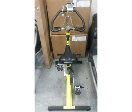 LeMond RevMaster Spin Bike w/cadence meter