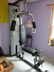 GOLDS GYM WEIGHT MACHINE (wallace)