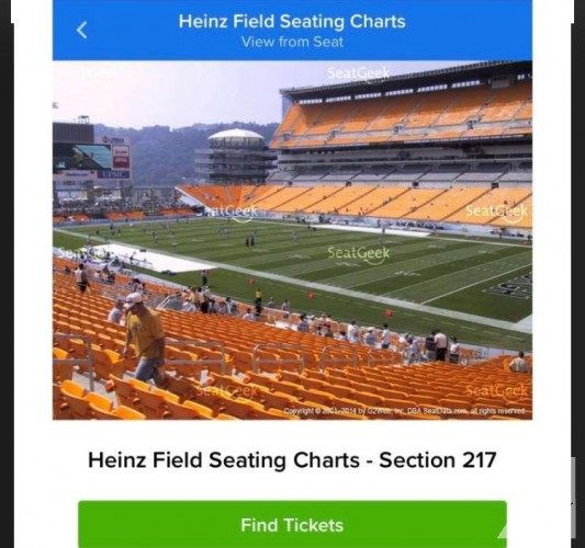 Steeler tickets