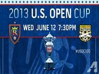 RSL vs Charleston Battery in U.S. Open Cup Real Salt Lake Tickets June 12th
