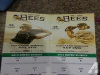 Two Suite Tickets to Salt Lake Bees Game June 1st