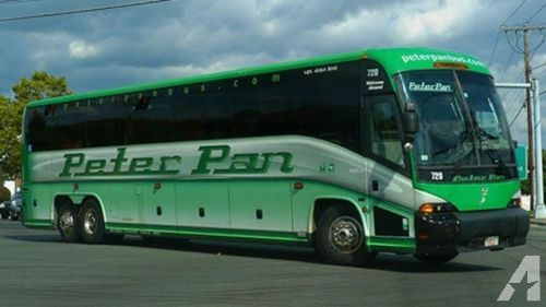 Peter Pan Bus Ticket BOSTON TO NEW YORK 12/29