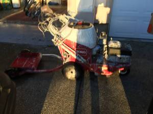 Toro line striping machine (Yakima Wa)