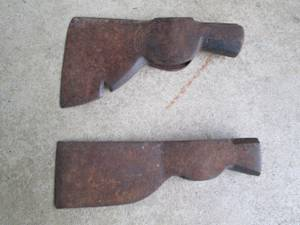 2 Antique Hatchet Heads Tru-Test (Morrisville Pa)