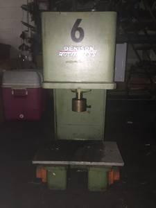 Denison 2-ton Hydraulic Multipress (Bristol, PA)