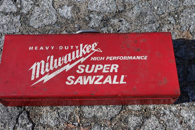 Milwaukee Super Sawzall