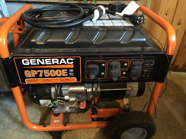 Generac Generator Gp7500