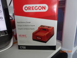 Oregon Rapid Battery Charger (Janesville)