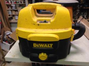 Dewalt Vacuum Cordless and Corded
