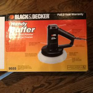 Black and decker buffer (Plainfield)