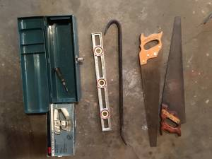 Hand and a few power tools for sale: the whole lot (peru)