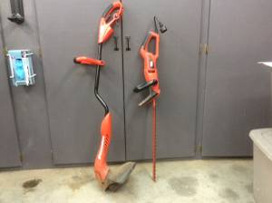 Black&Decker Electric Hedge Trimmer and a String Trimmer (Fluvanna)