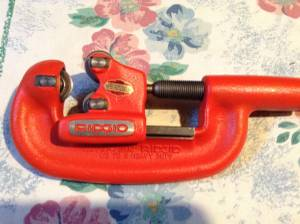 NEW RIDGID 2-A PIPE CUTTER (Lithia Springs)