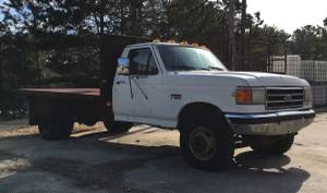 89 Ford Flatbed Super Duty Diesel (NW Cobb County)