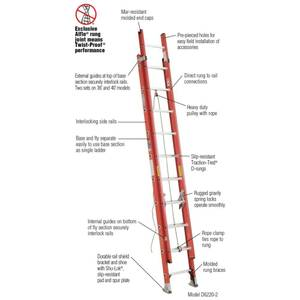 Extension ladder (st michael)