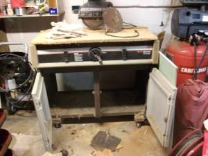 Craftsman radial arm saw (WGV St.Aug)