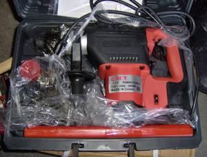 30lb Demolition hammer/ drill electric (new) (las vegas)
