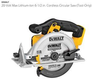 Dewalt 20V MAX Circular Saw (Tool Only) (Stillwater)