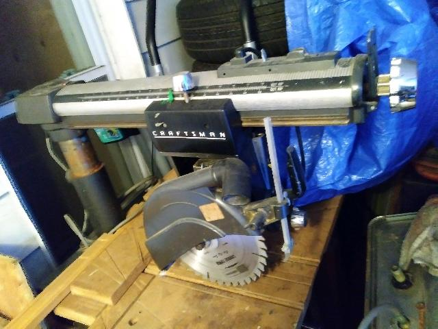 10 Inch Radial Arm Saw