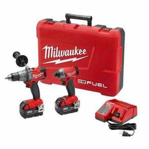 Milwaukee M18 FUEL 18V Li-Ion Hammer Dril/Impact Driver Combo (NEW)