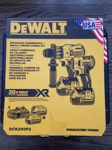 Brand New DeWalt 20v set DCK299p2 brushless impact/hammer drill (Vienna/oakton)