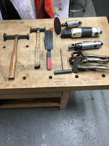 Auto Body Tools Dollie , Hammers, Spoon Dollies Etc (Holbrook)
