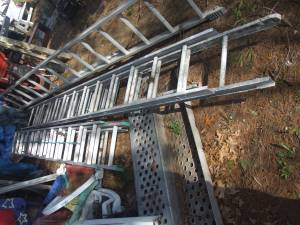 Aluminum Extension & A-Frame ladders, 8,14,24,28,32 foot $60 to (Chelmsford