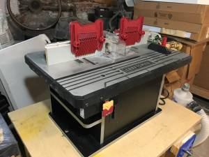 Craftsman Router Table - Premium Die Cast Aluminum (Park Slope)