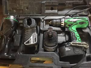 Hitachi DS18DVF3 18V 1/2in Drill Driver
