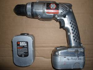 Black & Decker Rd1440 85th Anniv 14.4v Aluminum Housing Cordless Drill