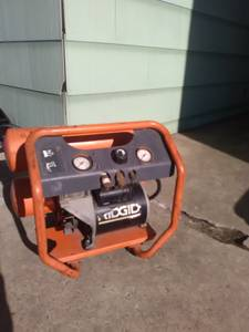 Ridgid twin tank air compressor