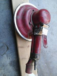 8in MUD HOG AIR SANDER (sevierville tn)