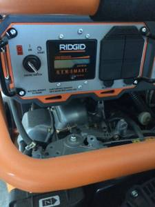 Ridgid 10,000 Watt Generator Like new (Bluffton)