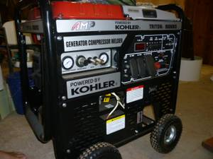 GENERATOR WELDER AIR COMPRESSOR (SW Okla. City)