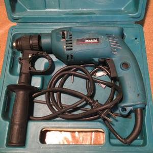 Makita Corded Drill HP1501 (Sheepshead Bay)