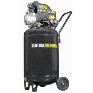 21 Gallon 2.5 HP 125 PSI Cast Iron Vertical Air Compressor (Auburn)
